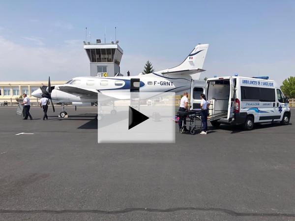 Aérodrome vol sanitaire