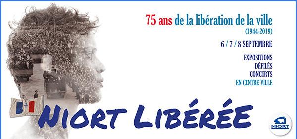 5e anniversaire de la Libération de Niort