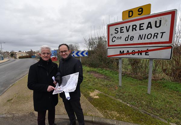 Lancement des travaux bourg de Sevreau ©BDerbord