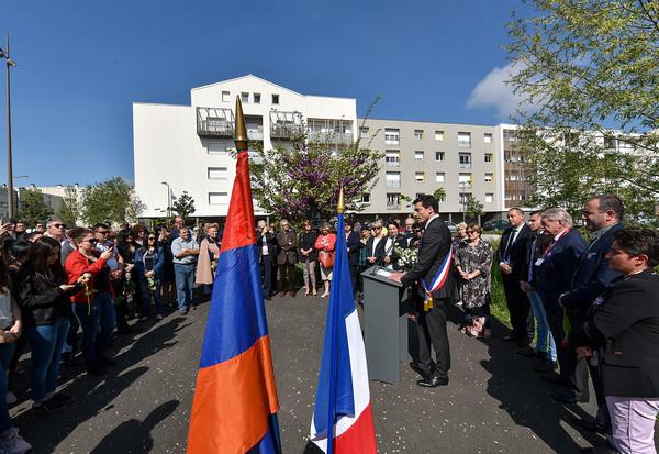 Commémoration du génocide arménien, 24 avril 2018 ©BDerbord