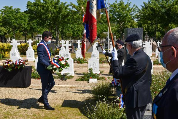 Ceremonie du 8 juin