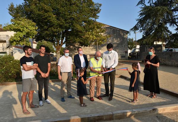 Saint Liguaire : inauguration de trois nouveaux aménagements