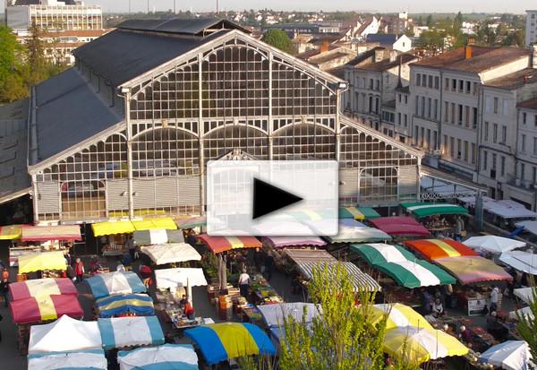 Niort, le plus beau marché de France