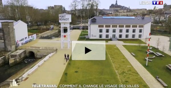 L'influence du télétravail sur la ville de Niort