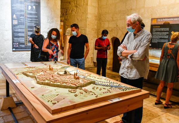 Journees du patrimoine aux Musee Bernard D?Agesci et au Donjon