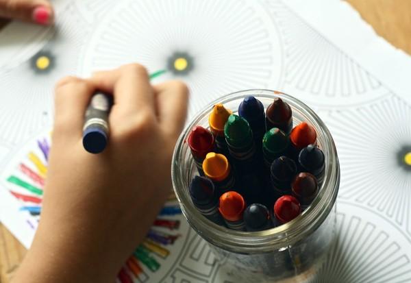 Boite de crayons